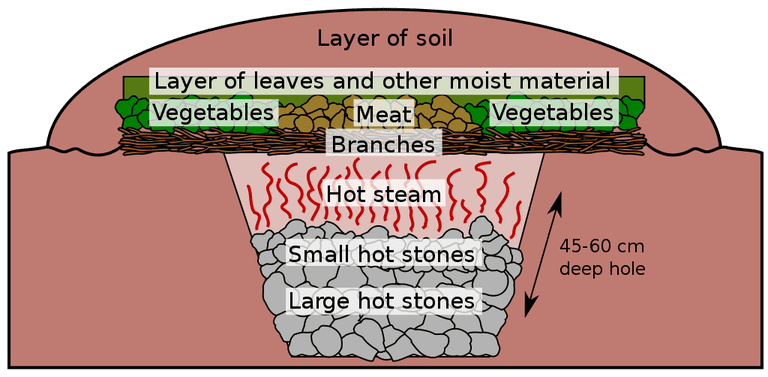 A cross-section of the cooking process | © Beao/WikiCommons
