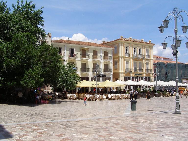 Nafplio's main square | © Dickpenn/WikiCommons