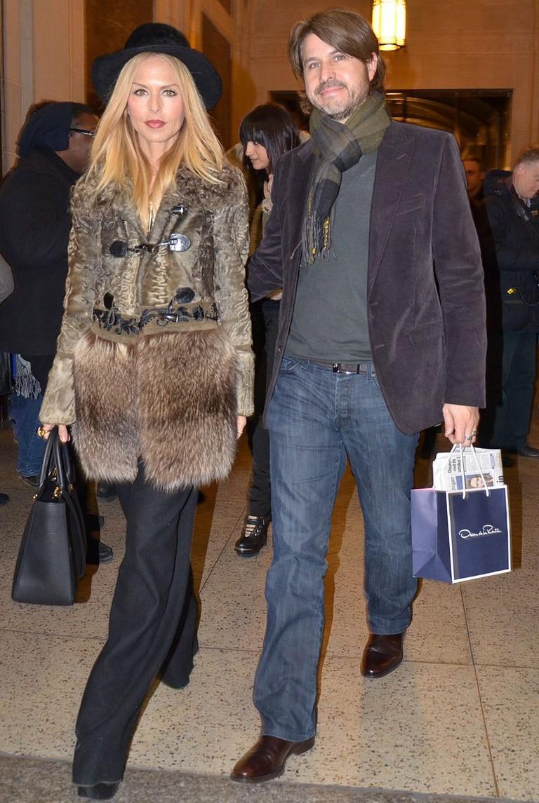 Rachel Zoe and Rodger Berman After Oscar de la Renta