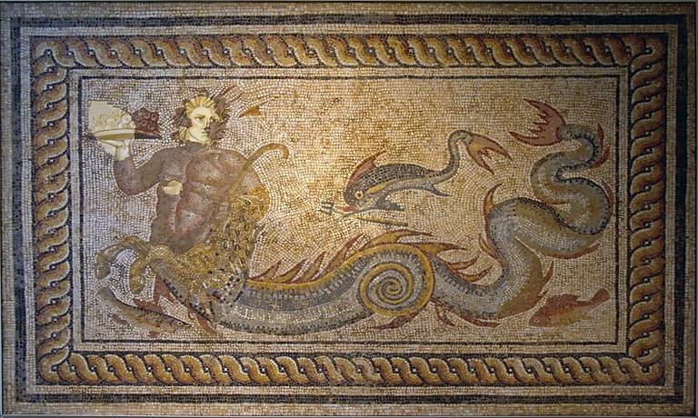 Roman Mosaic |© Tony Hisgett/WikiCommons