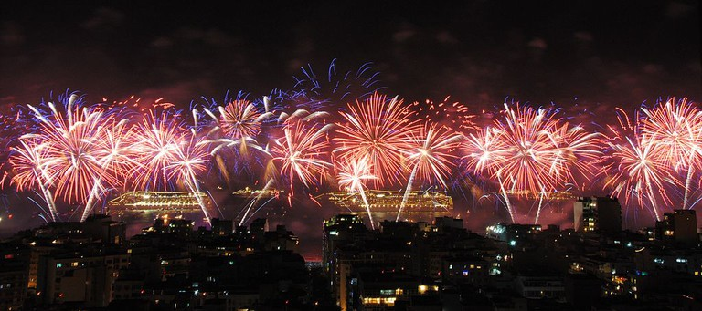 New Year's Eve at Copacabana |© File Upload Bot (Magnus Manske)/WikiCommons