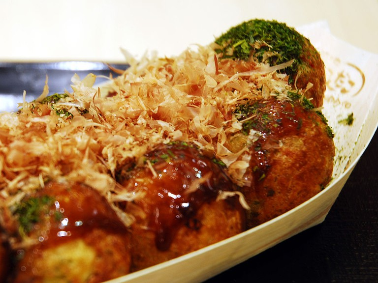 Tako-yaki ready to be eaten | © Ballet Lausanne/WikiCommons