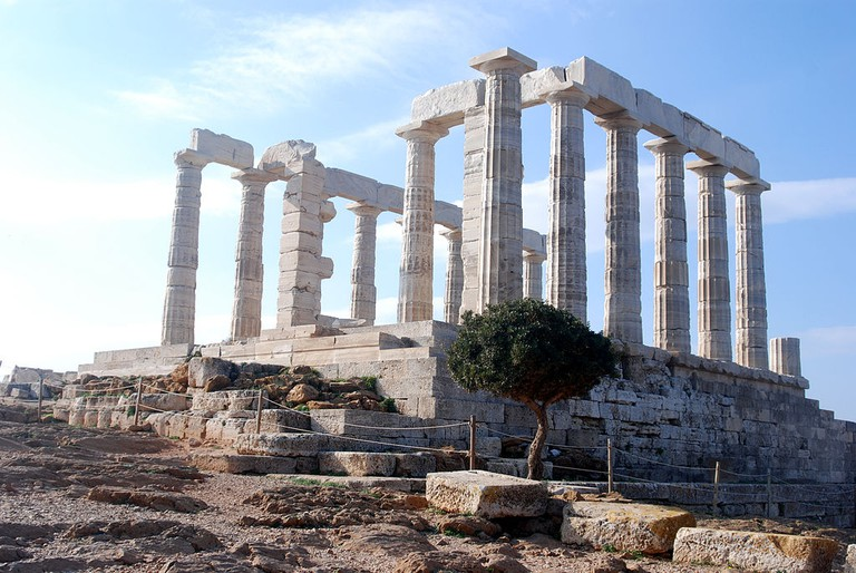 Temple of Poseidon, Cape Sounion | © Stella R/WikiCommons