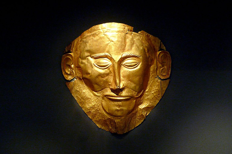 The Mask of Agamemnon | © Xuan Che/WikiCommons