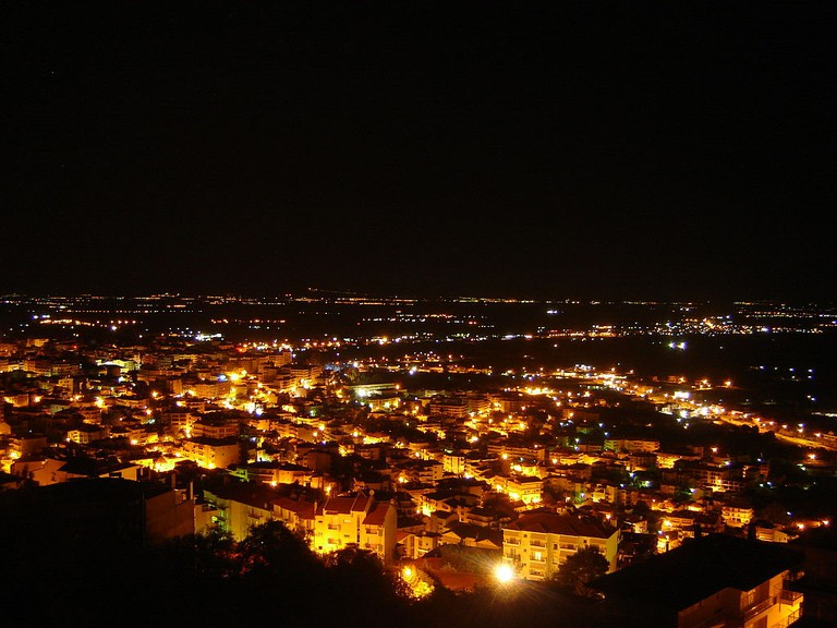 Veroia by night| © Sergiogr/WikiCommons
