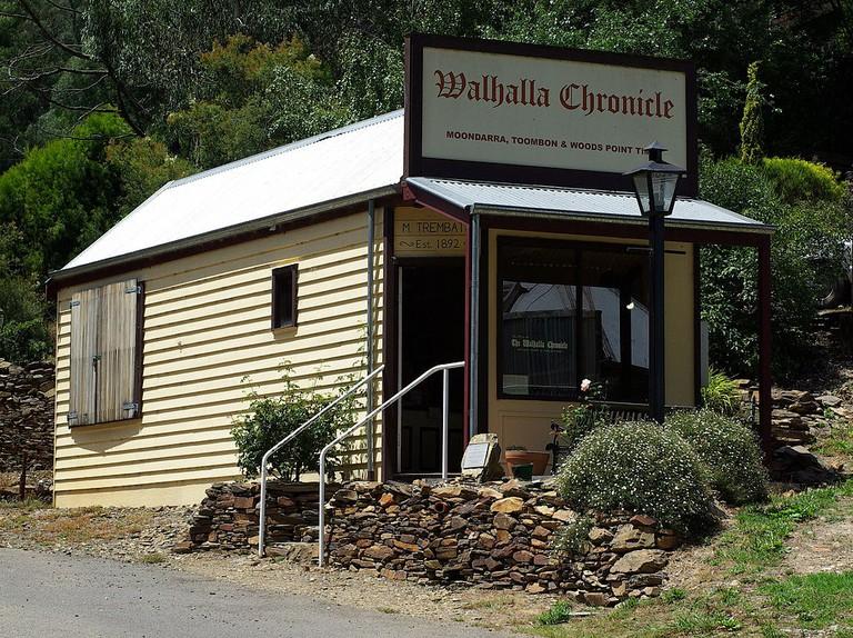 Walhalla Chronicle Stevage