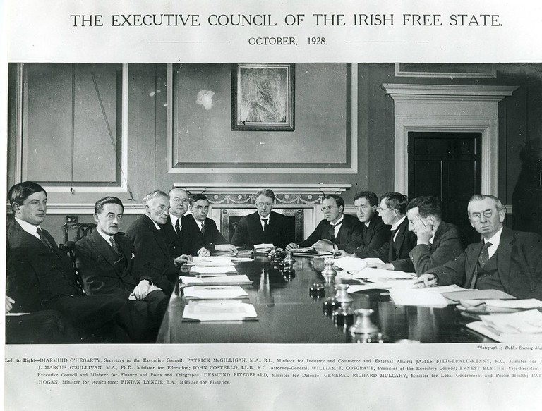 Executive Council of the Irish Free State, October 1928 | Public Domain/WikiCommons
