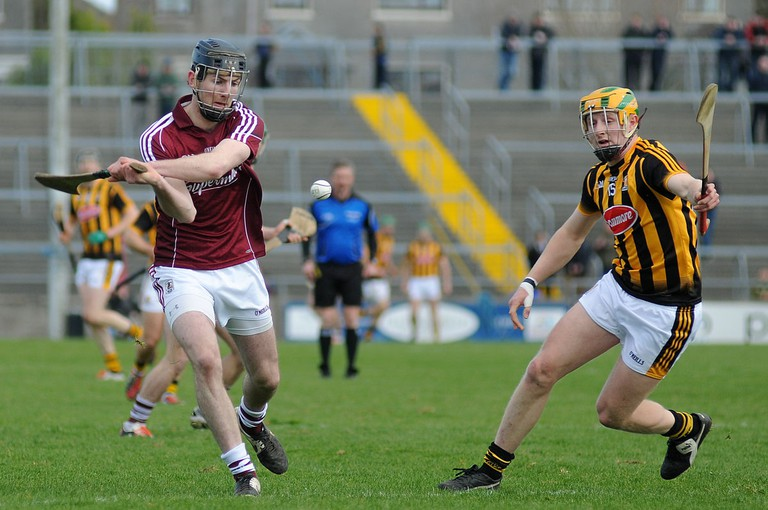 Padraig Mannion for Galway at the 2015 Allianz Hurling League | © Seaninryan/WikiCommons