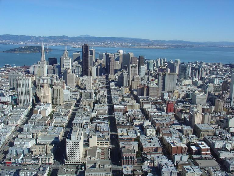 San Francisco skyline © Kitchen from San Francisco/Wikipedia