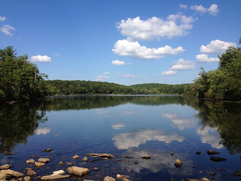 Sunfish Pond on the Appalachian trail in New Jersey | © Famartin/Wikicommons