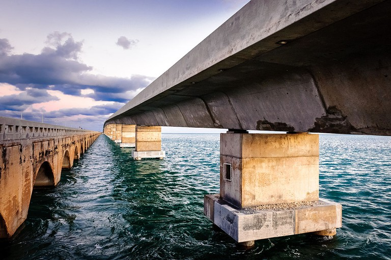 Overseas Highway and Railway Bridges, Florida Keys