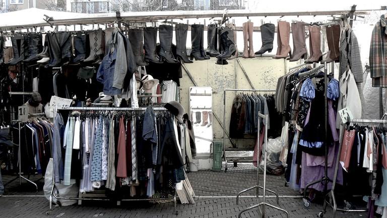Vintage clothes at Waterlooplein market