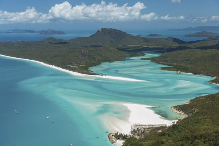 Whitehaven Beach, Whitsundays Islands, QLD | Courtesy of Tourism Whitsundays © Phill Gordon