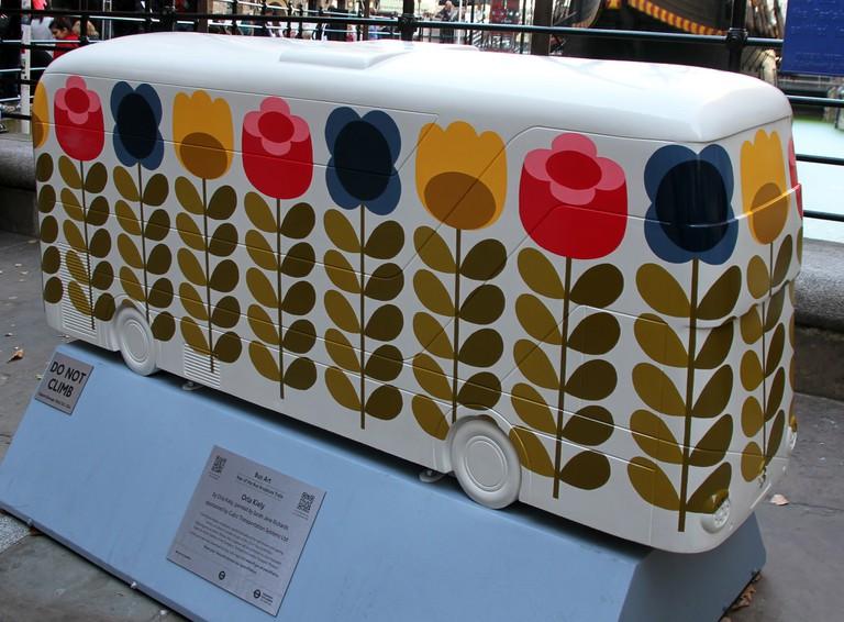 Orla Kiely bus art | ©the wub/Flickr