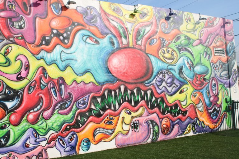 Mural by Kenny Scharf at Wynwood Walls | Mffitzgerrald/Flickr