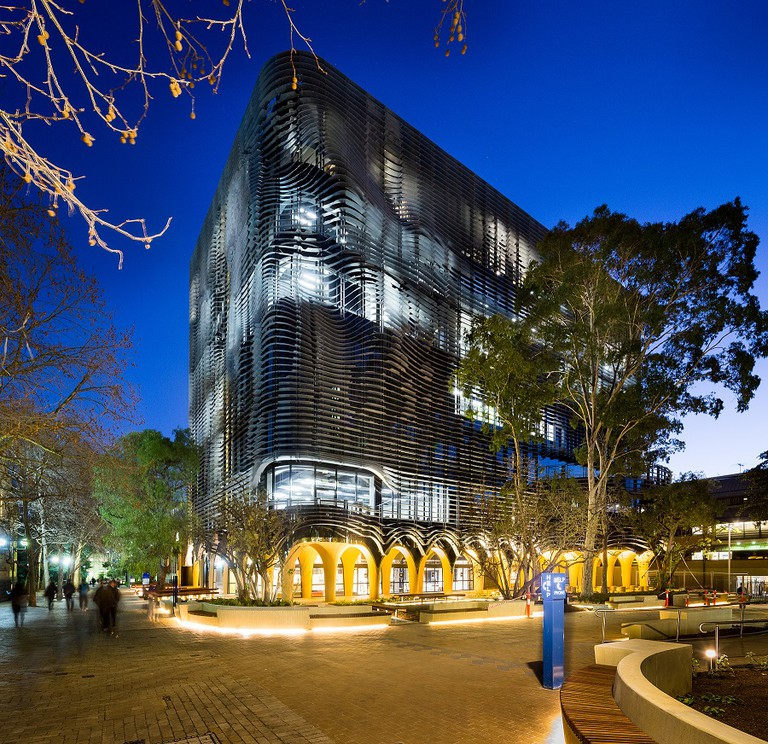 The new Arts West building at the University of Melbourne