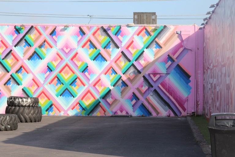 Mural by Maya Heyuk, Wynwood Walls | mffitzgerrald/Flickr