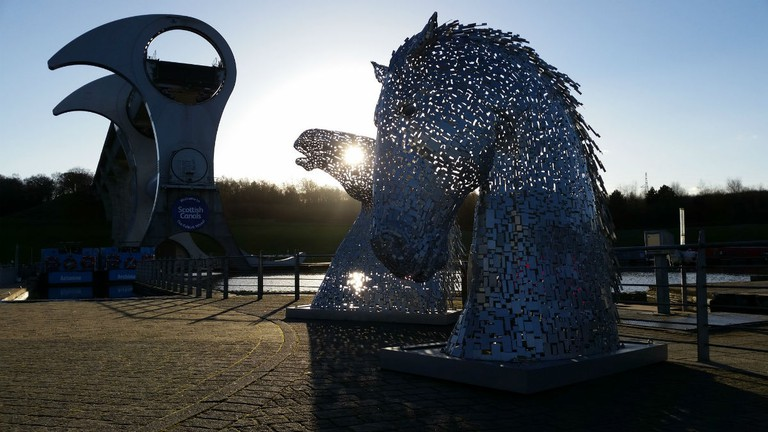 Falkirk Wheel and The Kelpies | © Michel Curi/Flickr