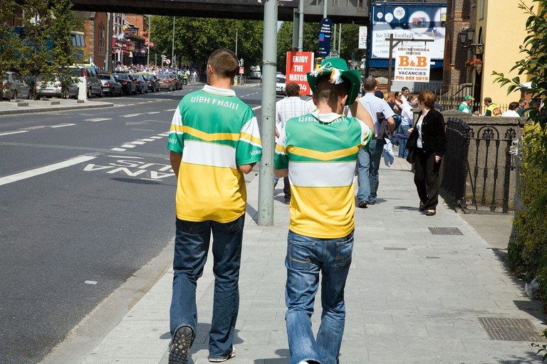 Gaelic football supporters | © William Murphy/Flickr