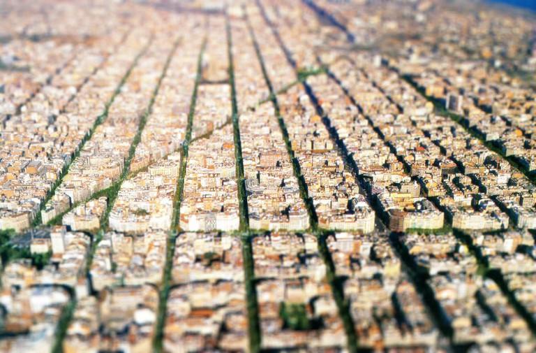 The Eixample from above | © Jose Maria Miñarro Vivancos / Flickr
