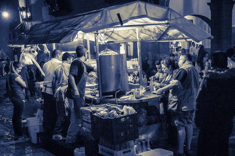 Tacos al pastor | © Waywuwei/Flickr