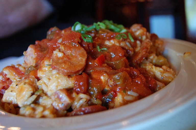 Chicken jambalaya at Russo's| © stu_spivack/WikiCommons
