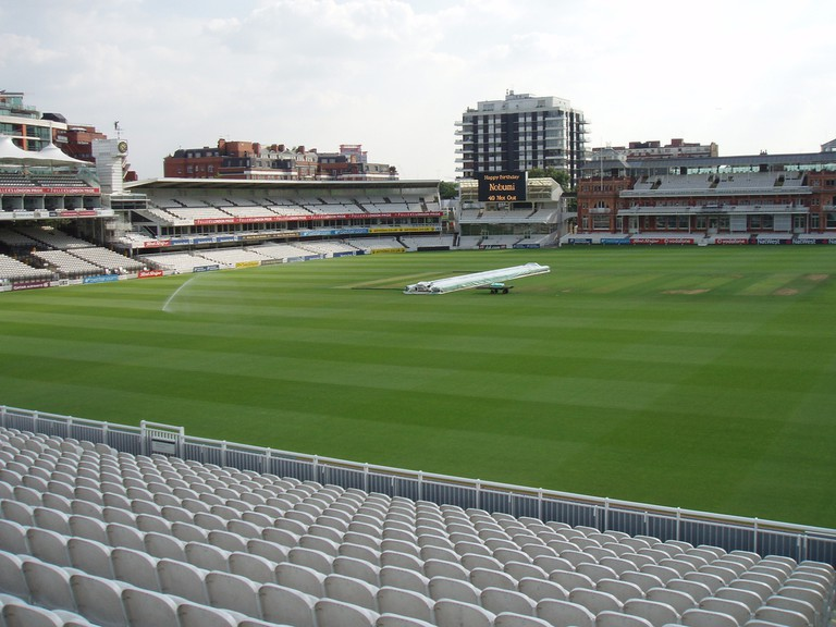 The view across Lord's Cricket Ground