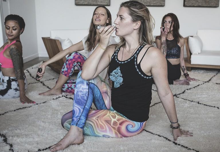 Ganja Yoga | © Monica Lo