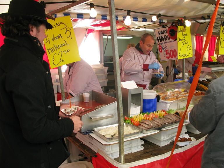 Pickled Herring Kiosk