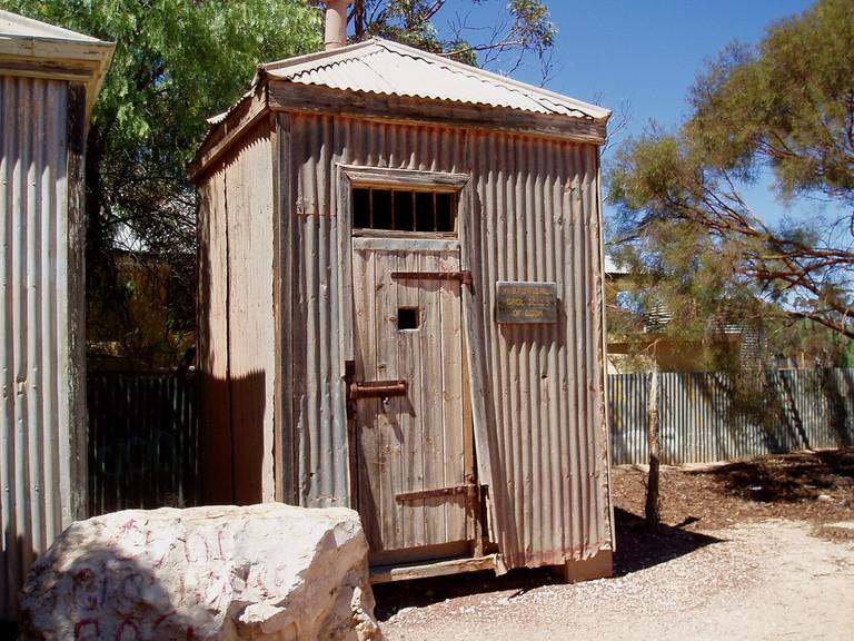 Historical Gaol Cells of Cook. SA