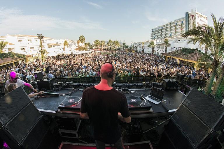 The mian stage   Courtesy of Ushuaia Ibiza Beach Hotel