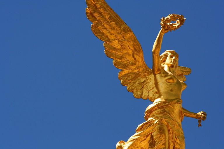 Ángel de la Independencia, Paseo de la Reforma