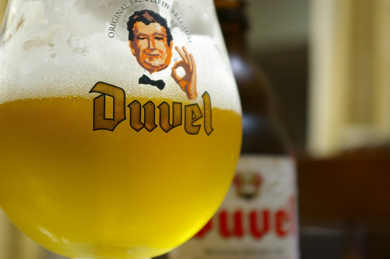 Duvel, a strong beer that's gathered a large and loyal fan group | © Takashi Kiso/Flickr