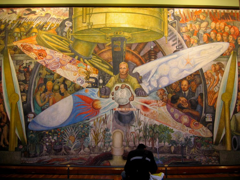 Diego Rivera Mural at Bellas Artes | © Xuan Che/Flickr