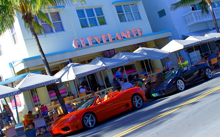 The Cleavlander Hotel and Bar, Ocean Drive