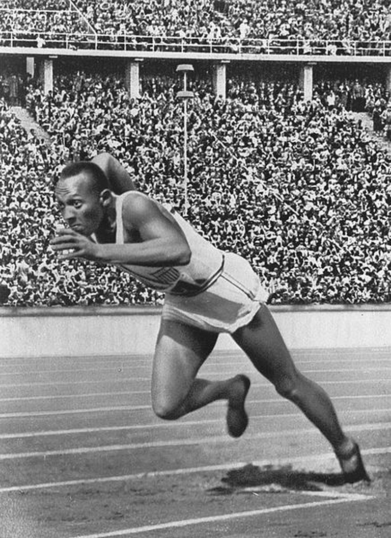 Jesse Owens | © Tomer T/WikiCommons