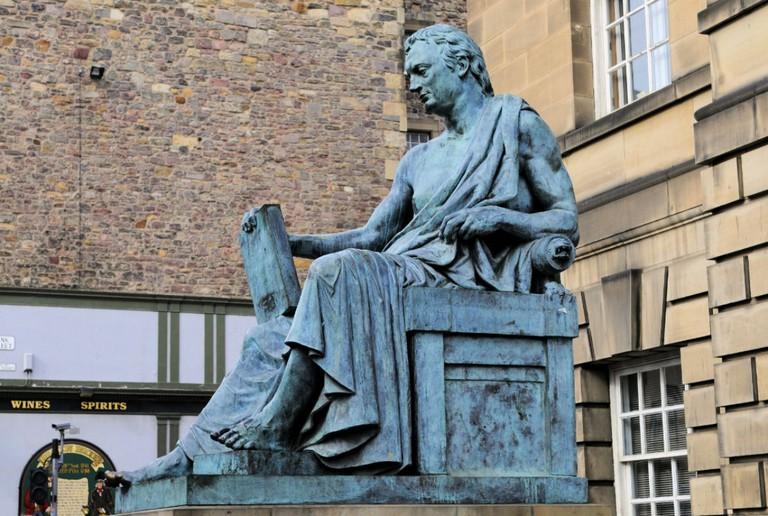 David Hume Statue, Edinburgh | © Son of Groucho/Flickr