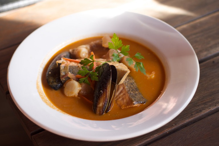Today's waterzooi comes in many varieties, with some chefs even adding a splash of wine or beer to the creamy soup   © Tristan Kenney/Flickr