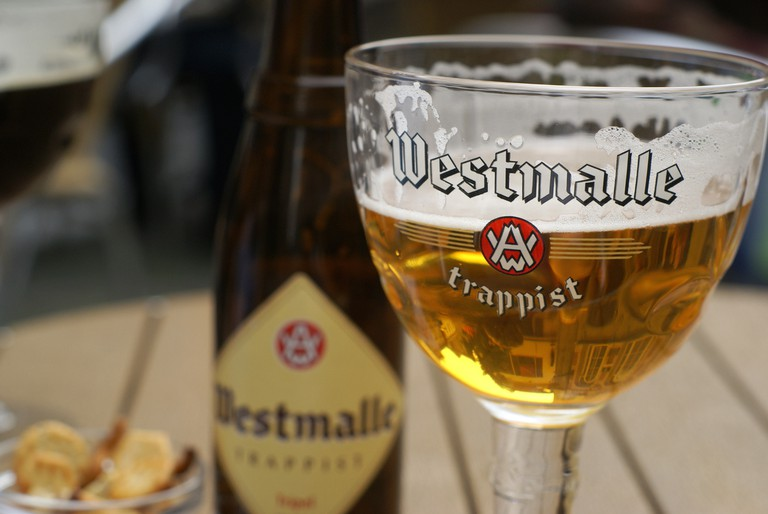 The Westmalle Tripel, a Trappist beer famous for popularizing the term 'triple' | © Georgia/Flickr