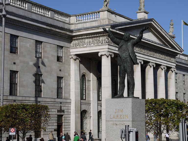 Jim Larkin statue by Oisin Kelly, O'Connell Street, Dublin