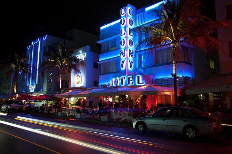 The Colony Hotel, South Miami Beach