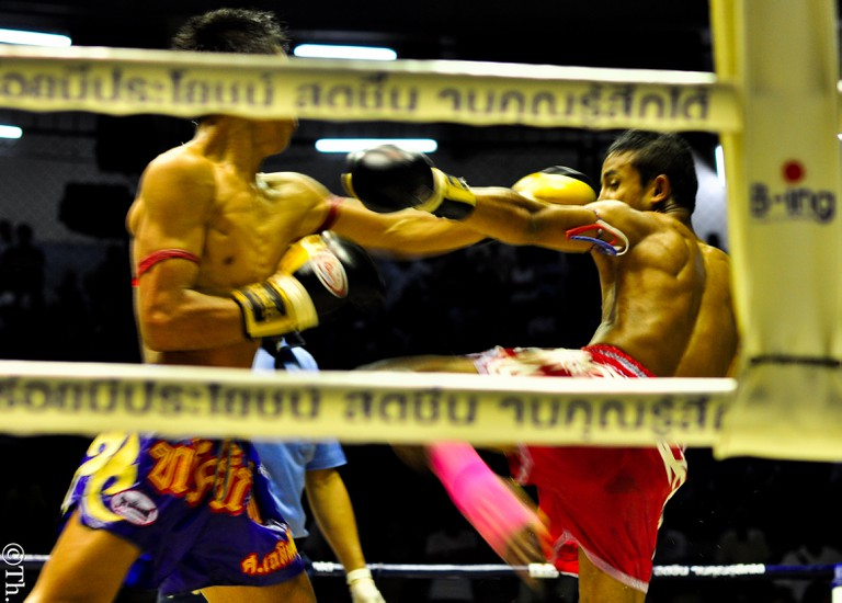 Limbs become weapons in Muay Thai