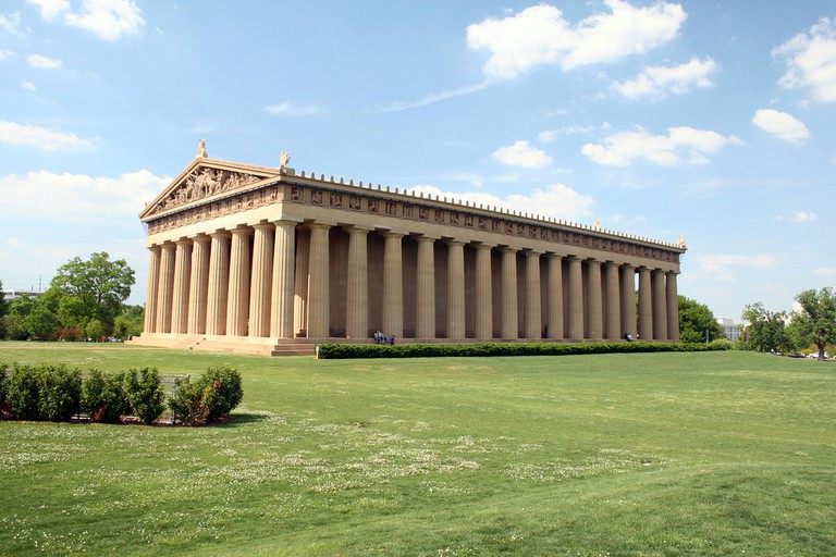 Nashville Parthenon, inspired by ancient Greek architecture