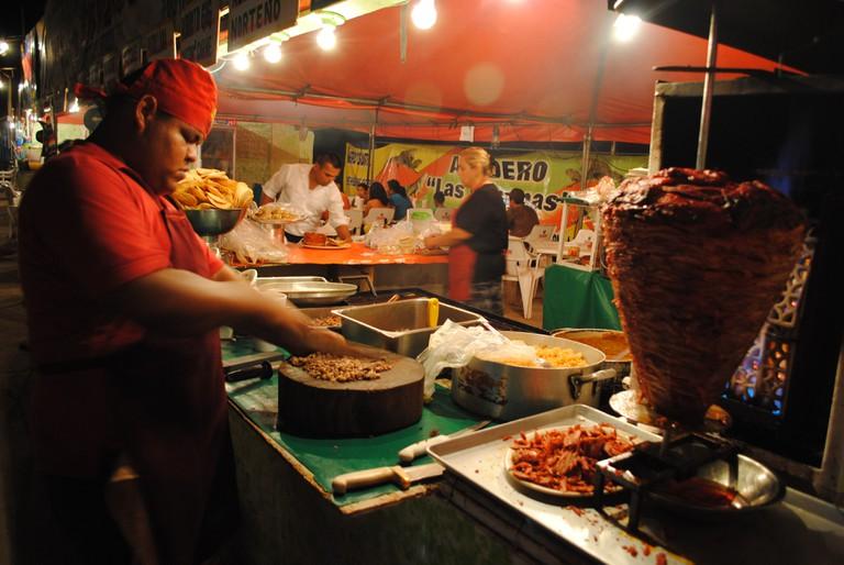 Taco stand | © Gabriel Flores Romero/Flickr