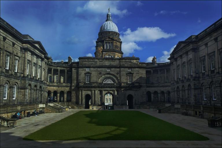 Old College Quadrangle, Edinburgh University | © dun_deagh/Flickr