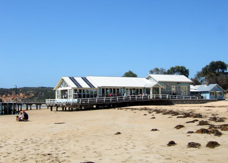Barwon Heads boatshed Stevage