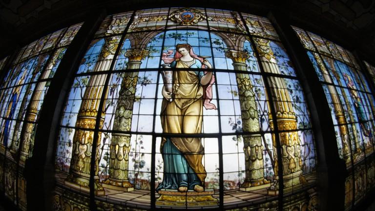 Window in Castillo de Chapultepec
