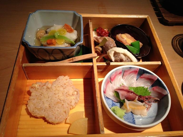 A Bento Box at NAOE | T.Tseng/Flickr