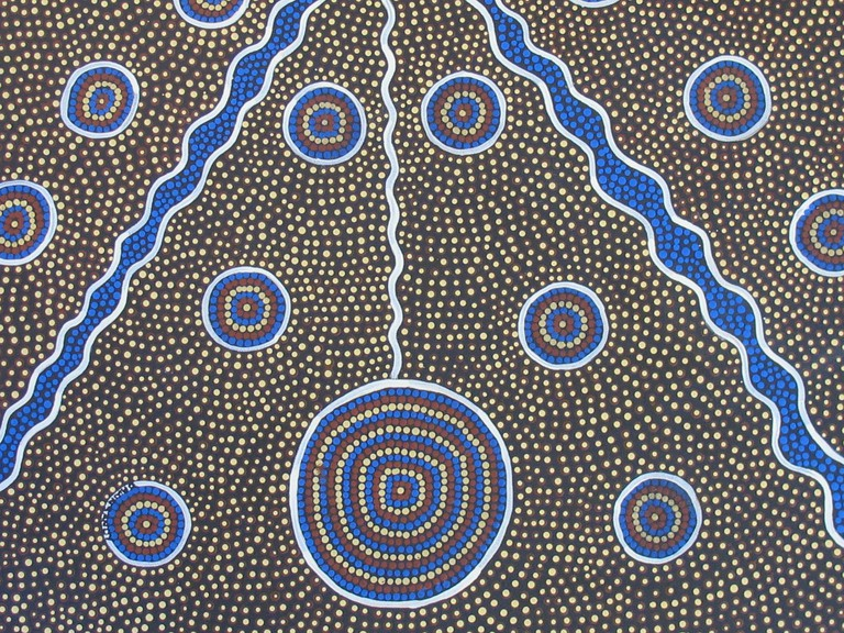 Aboriginal dot painting | © esther1721 / Pixabay