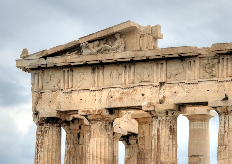 Detail of the Parthenon frieze